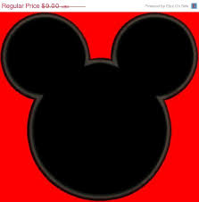sale 40 applique mickey mouse outline disney inspired machine