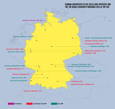 Germany Political Map by Germany An Alternative Route To Excellence The Features