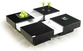 coffee table extendable top modern side table with storage modern square extendable top coffee