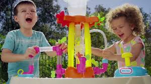 Little Tikes Fold And Store Picnic Table Manual by Little Tikes Fountain Factory Water Table En Youtube