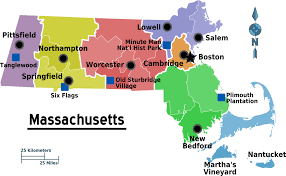 Six Flags New England Map by Massachusetts U2013 Travel Guide At Wikivoyage