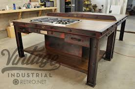 Kitchen Utility Table by Wondrous Design Industrial Kitchen Islands Stunning Ideas Vintage