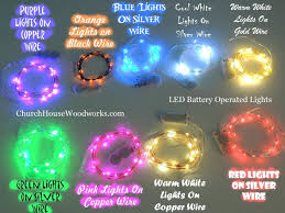 100 multi outdoor led battery operated party string lights with