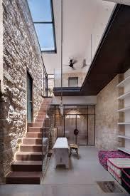 steinwand wohnzimmer material haus renovierung mit modernem innenarchitektur kühles steinwand
