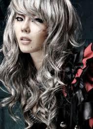 grey streaks in hair grey gray streaks in hair dark brown hairs of 22 wonderful silver