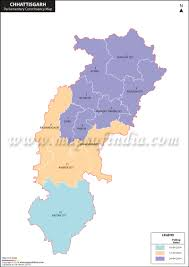 Blank Maharashtra Map by Chhattisgarh General Lok Sabha Elections 2014 Chhattisgarh