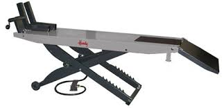 motorcycle lift table for sale handy sam 1000 lb air powered pneumatic motorcycle lift lifting