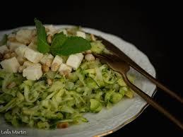 cuisiner la choucroute salade de choucroute crue courgette munster blanc et menthe je