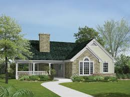 country house with wrap around porch house design