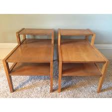 conant ball coffee table conant ball step up side tables pair chairish