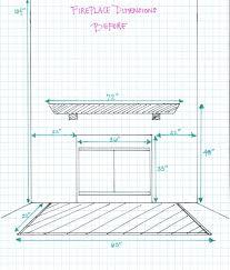 fireplace dimensions binhminh decoration
