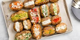 Toppings For A Mashed Potato Bar Best Baked Potato Toppings Ways To Top Baked Potatoes Delish Com
