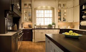 mixed white and stained kitchen cabinets your kitchen mix wood