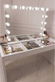vanity desk with lights elegant black vanity desk with mirror lights and this is that can