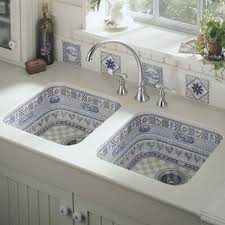 Mediterranean Tiles Kitchen - mediterranean kitchen with bay window u0026 flat panel cabinets
