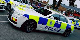 lexus badge uk rolls royce ghost black badge gets uk police livery photos 1 of 3