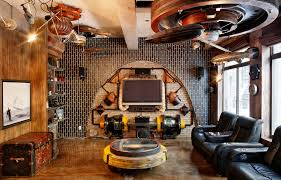 winsome steampunk homer style images uk wallpaper living room best