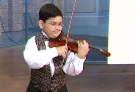Blind Violinist Famous Mini Musicians On The Oprah Show