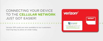 press release nimbelink now delivering verizon sim cards with