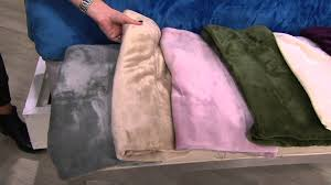 Qvc Bedroom Set Bedding Berkshire Blanket Velvet Soft Cozy Sheet Set On Qvc
