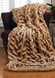 Fox Fur Blanket Furniture Elegant And Luxury Faux Fur Throws U2014 Chrismartzzz Com