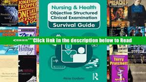 read nursing health survival guide objective structured clinical