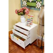 White Sewing Machine Cabinet by Kangaroo Kabinets Joey Sidekick Sewing Machine Storage Cabinet