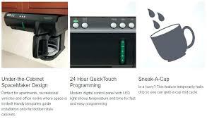 best under cabinet coffee maker best under counter coffee maker under counter coffee maker black