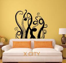 home decor wall art stickers online get cheap wall art stickers tentacles aliexpress com