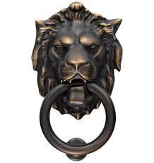 eclectic lion ring holder images Lion door knocker rejuvenation jpg