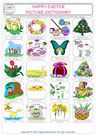 happy easter free esl efl worksheets made by teachers for teachers