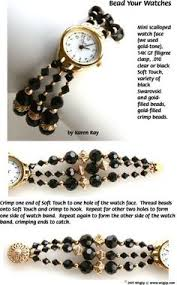 beaded bracelet watches images 118 best watchbands images beaded watches bead jpg