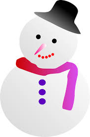 free vector graphic snowman winter cute free image on pixabay