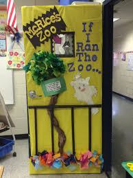 if i ran the zoo dr seuss inspired door displays zoos doors