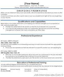 Nursing Resume Skills Berathen Com by Er Nurse Resume Berathen Com