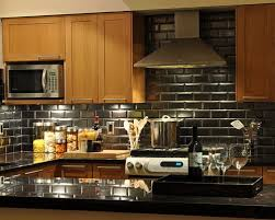 black backsplash kitchen beveled subway tile backsplash houzz