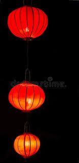 lanterns new year glowing paper lanterns in new year stock