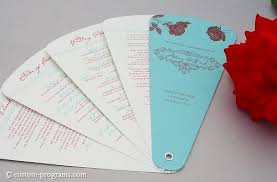 diy fan wedding programs kits diy wedding program fan template do it your self