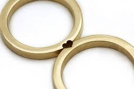 wedding bands minimal matching wedding bands wedding bands