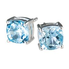 topaz earrings sky topaz earrings timepieces international