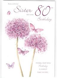 happy birthday to a special on your 80th birthday card