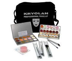 kit kryolan makyaj Çantaları kryolan makyaj malzemeleri makeup