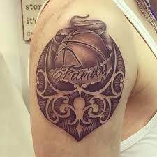 basketball tattoos designs ideas 021 tattoomega
