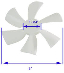 Rv Bathroom Fan Blade Replacement Replacement Fan Blade For Ventline Ventadome Trailer Roof Vents