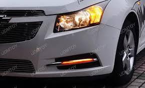 chevy cruze warning lights chevrolet cruze switchback oem fit led daytime running light kit