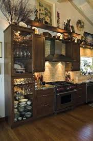 ideas for top of kitchen cabinets kitchen soffit decorating ideas bloomingcactus me