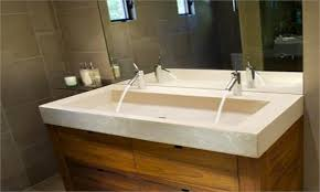 trough sink with 2 faucets kohler trough sink 2 faucets farmhouse design and furniture