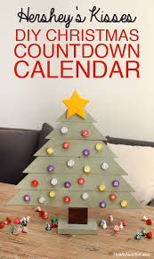 hershey s kisses diy countdown calendar how to nest for