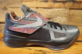 k d nike kd 4 bhm 2012 new original box size 10 1428 70 soled out jc