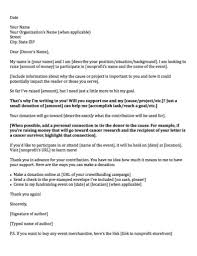 Proposal Letter For New Business by Donation Request Letters Asking For Donations Made Easy